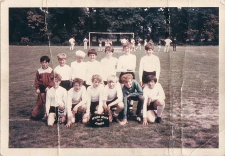 Severn Beach Juniors 1970 -71 Team Photo